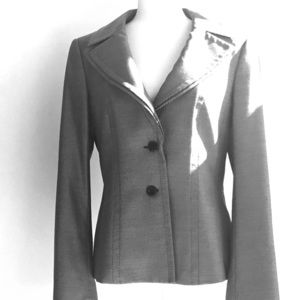 Elegant black and white Escada jacket